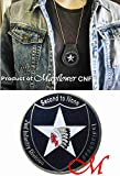 Mayflower CNF Coin &Leather Holder - U.S Army 2nd Infantry - Indian Head - Second to None Challenge Coin - Honoring Those Who Serve - Salute to Our Heroes