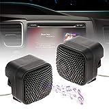 hengxiang Altavoces de Coche 500W Tweeter Mini Auto Audio Música Cuerno de Altavoces estéreo de Audio Altavoz DC 12V for el Coche/RV/Camión Sistema de Audio/Barco