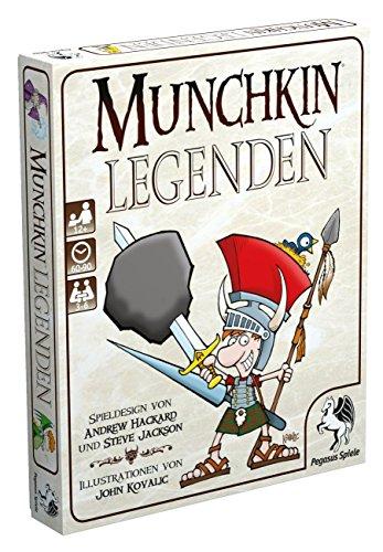 Pegasus Spiele 17236G - Munchkin Legenden