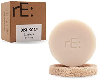 rE: Dish Washing Soap Bar (Loofah Holder Sponge Included) - Palm Oil Free, eco Friendly, Zero Waste, Plastic Free, Free of...
