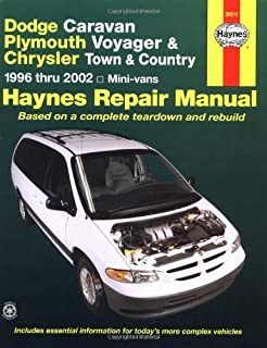 Dodge Caravan, Plymouth Voyager and Chrysler Town and Country Automotive Repair Manual: 1996 to 1999 (Haynes Automotive Repair Manuals) by L.Alan LeDoux (1-Mar-2000) Paperback
