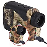 Wosports Rechargeable Hunting Rangefinder, 800 Yards USB Charging...