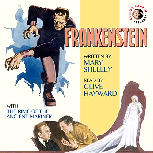 Frankenstein & The Rime of the Ancient Mariner audiobook cover art