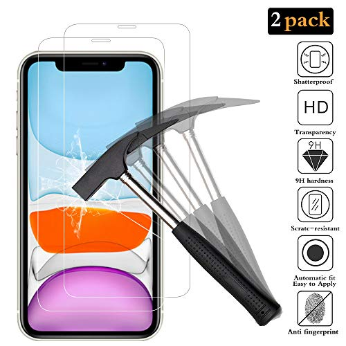 ANKENGS iPhone XR Screen Protector and iPhone 11 Screen Protector [2...