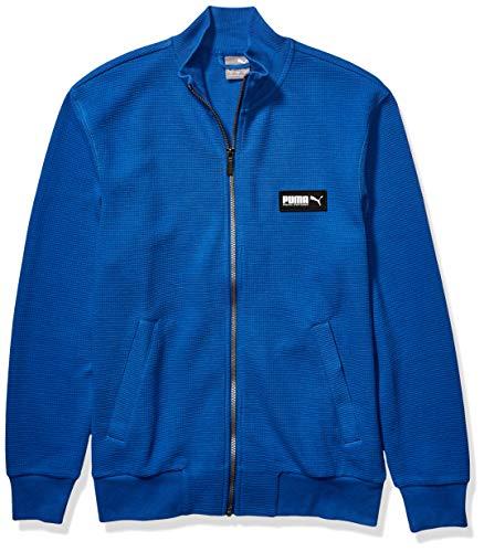 PUMA Men's Fusion Jacket, Galaxy Blue, L