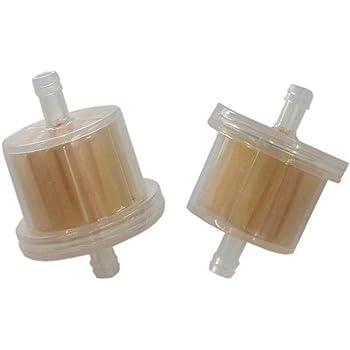 Amazon.com : HURI 2 Fuel Filter for Tecumseh HM80 HM90 HM100 OHV125 OVM120  OVXL120 TVM195 TVM220 TVXL220 : Garden & OutdoorAmazon.com
