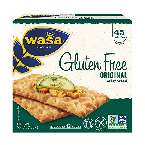 Wasa Gluten Free Original Crispbread, 5.4 Ounce (Pack of 10)