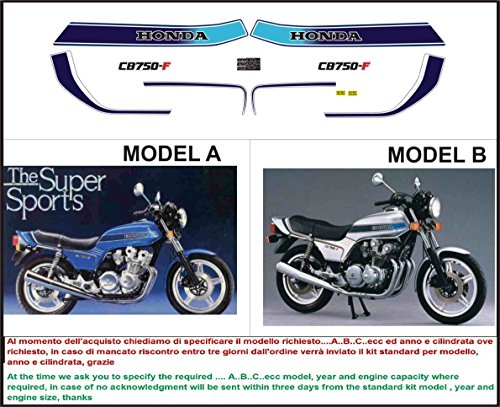 Kit adesivi decal stickers HONDA CB 1000 R TEAM TENKATE HANNSPREE ability to customize the colors
