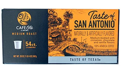 54-Count H.E.B. Cafe Ole --Taste of San Antonio single serve