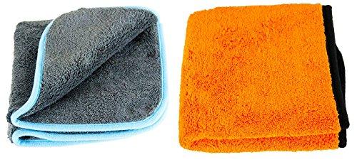 Liquid Elements Silverback 1200 GSM & Orange Baby 800 GSM Trockentuch