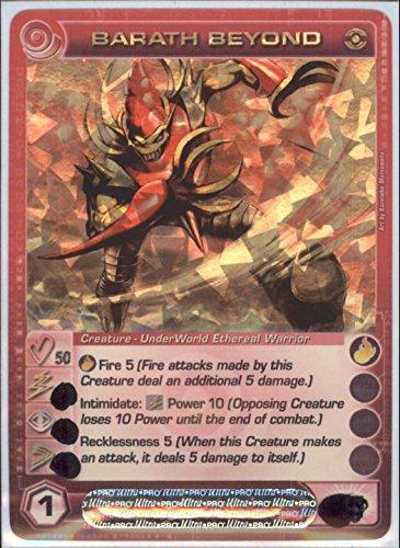 Chaotic BARATH Beyond Super Rare Foil Card Random Stats Dawn Perim