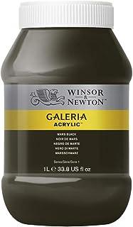 Winsor & Newton Tinta Acrílica Galeria W&N 1 Litro 386 Mars Black
