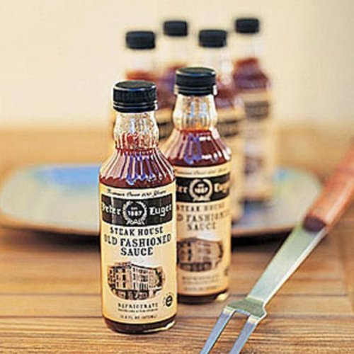 Peter Luger Max 80% OFF Steak Max 80% OFF Sauce Gift Set 6-Bottle