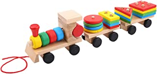 Best wooden train stacking toy Reviews