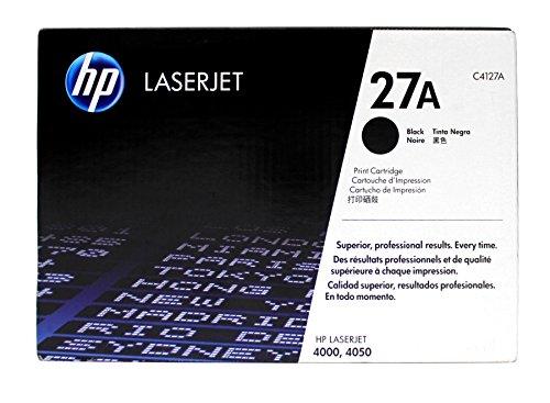 Genuine HP C4127A (27A) Toner Cartridge for Laserjet 4000, Laserjet 4050 Series
