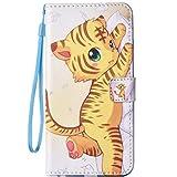 iPhone5/5S/SEケース レザーケース おしゃれデザイン 猫の耳 かわいい 手帳型ケース 手帳 カバー 財布型 耐衝撃 軽量 スタンド機能 2カードホルダー スマホケース アイフォン5s 5 se ケース (iPhone5/5S/SE)