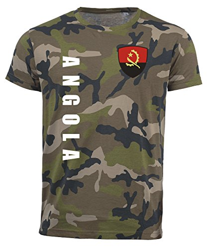 aprom Angola T-Shirt Camouflage Trikot Look Army Sp/A (XL)