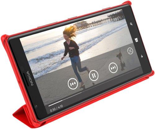 Nokia Custodia Protettiva Originale per Lumia 1520, Rosso