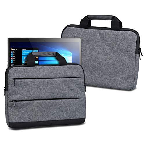 UC-Express Schutzhülle für Trekstor Surftab Theatre K13 Sleeve Tasche Hülle Schutzcase 13,3 Zoll Bildschirm Laptoptasche mit Griff, Farbe:dunkel Grau