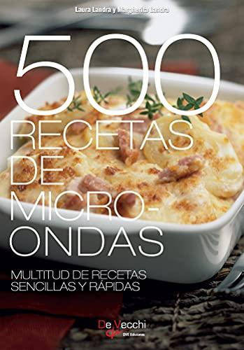 500 Recetas de microondas. Multitud de recetas sencillas y rápidas (Spanish Edition)