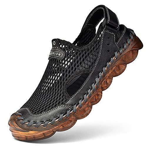 Zapatos De Agua Zapatillas De Playa Descalzas De Secado Rápido, Zapatos De Aguas Arriba, Zapatos De Vadeo Calcetines De Agua Sin Cordones Para Hombres, Natación Al Aire Libre, Surf, Buceo Atlético