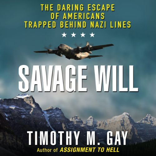 Savage Will audiobook cover art