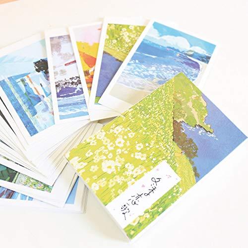 XiYon 30 Hojas/Juego Novedad Serie de Sonata de Invierno Tarjeta Postal Tarjeta de felicitación Tarjeta de Mensaje Tarjeta de Regalo de cumpleaños