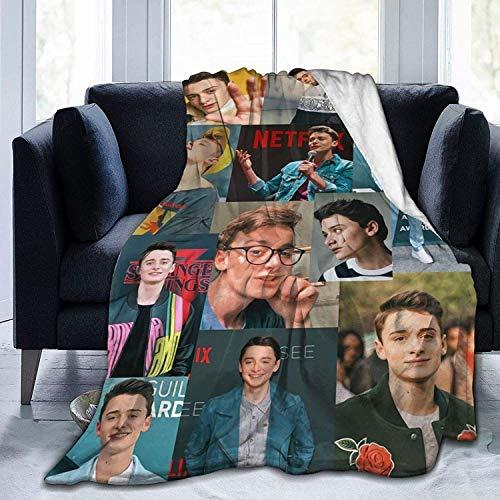 Überwurf Decken Flanelldecke weich warm, für Zuhause, Bett, Sofa, geeignet für Camping, Reisen, Ganzjahres-Bettdecke – No-ah S-chnapp 3-