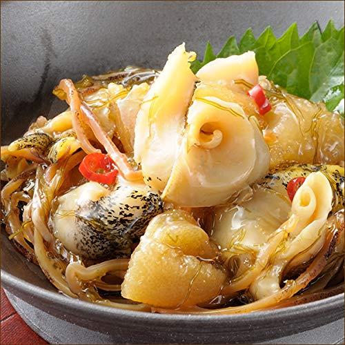 北海道産 つぶ貝松前漬け 1樽(500g) 人気 北海道 海鮮 ギフト