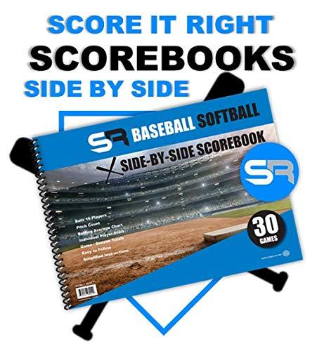 "SR Baseball/Softball Scorebook ""Side by Side"""