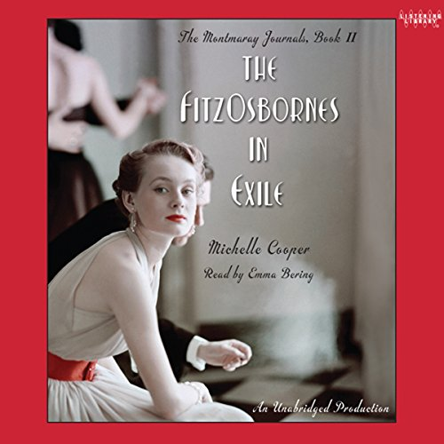 The FitzOsbornes in Exile audiobook cover art