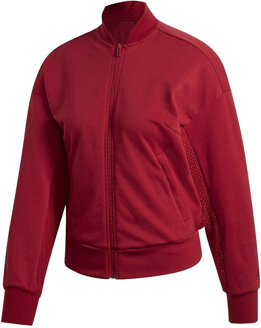 adidas Women's Id Mesh Bomber Jacket