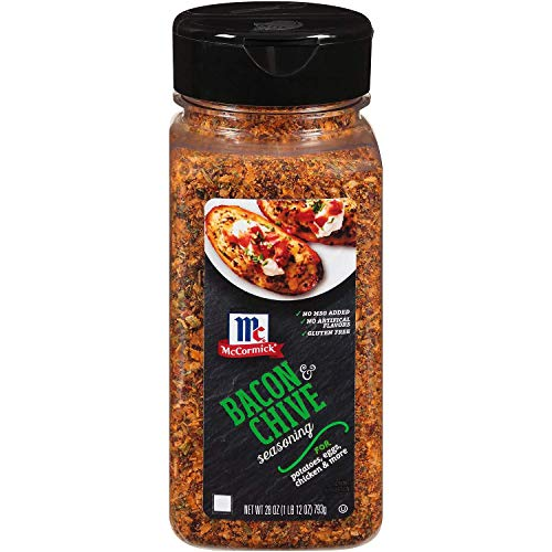 McCormick Bacon and Chive Naturally Flavored Seasoning, 10 Ounce
