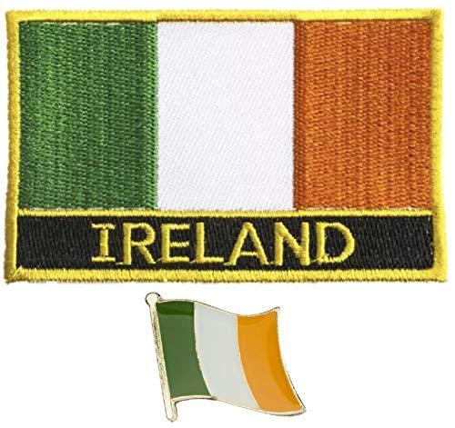 Tanto Badges Parche Bordado Bandera Irlanda Coser