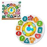 PlayGo - Reloj madera para niños (46399)