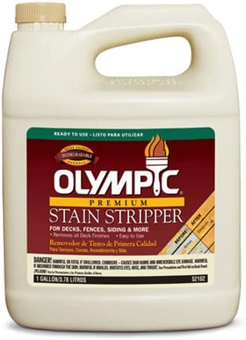 OLYMPIC Ranking TOP9 PPG OFFicial shop ARCHITECTURAL FIN 52102A Deck 01 Stripper GAL