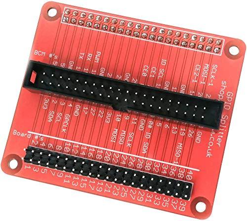 Raspberry Pi Gpio Splitter, Zubehör-Typ GPIO Splitter, zur Verwendung mit Raspberry Pi, Entwicklungsplatinen und Auswertungs-Kits