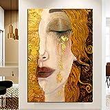 AGjDF niñaDIY Pintura de por números-Lienzo preimpreso-Home Décor, Pintura al óleo, Regalo para Adultos o niños, Pintura por números_40x50cm
