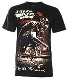 Unisex's The Linkin Park Graphic Art T Shirt (NS042) (Black,M)