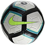 Nike NK Strk Team 350G Ballon de Football Mixte Adulte, Blanc/Jade Clair/Noir/Volt, 5