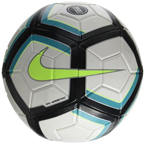 Nike Unisex– Erwachsene NK Strk Team 350G Soccer Ball, White/Clear Jade/Black/Volt, 5