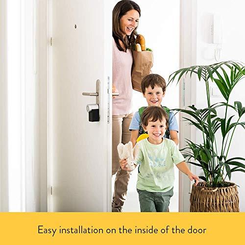 Nuki Smart Lock 2.0 - Apple HomeKit - Amazon Alexa - Google home - IFTTT - Elektronisches Türschloss mit Türsensor - Automatischer Türöffner mit Bluetooth, WLAN - für iPhone und Android - Smart Home - 6