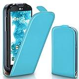 moex Flip Case für LG L90 - Hülle klappbar, 360 Grad