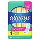 Always Ultra Thin Pads Size 1 Regular Absorbency...