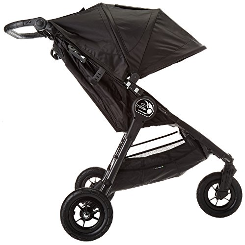 Baby Jogger City Mini GT Stroller - 2016 | Baby Stroller with All-Terrain Tires | Quick Fold Lightweight Stroller, Black