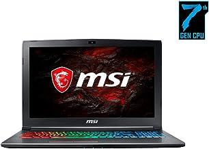 "MSI GF62VR 7RF-877 Laptop (Windows 10 Home, Intel Core i7-7700HQ, 15.6"" LCD Screen, Storage: 1024 GB, RAM: 16 GB) Black"