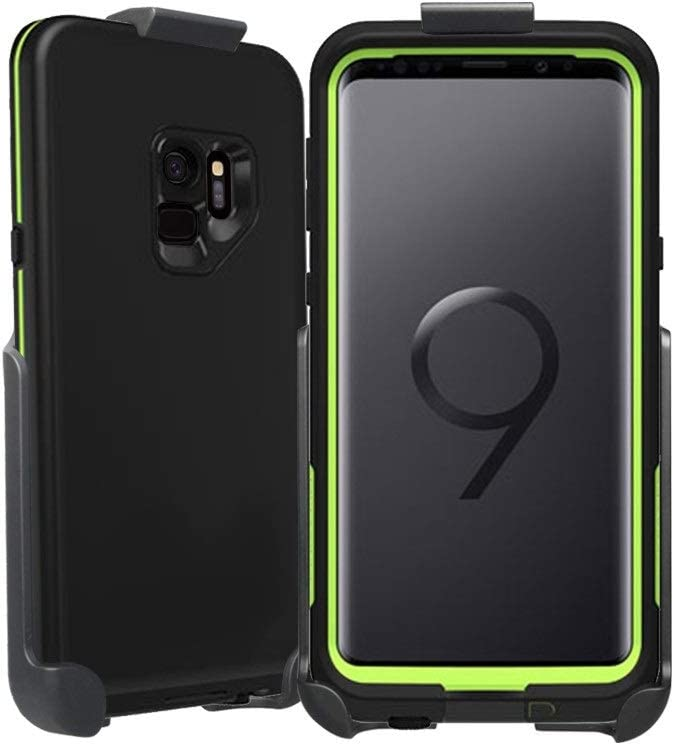 BELTRON Belt Clip Holster Compatible with LifeProof FRE Galaxy S9 Case (case is not Included) Features: Secure Fit, Quick Release Latch, Durable Rotating Belt Clip & Built-in Kickstand