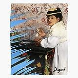Child Edgar Portrait Painter Degas Impressionism Kid Girls Signature Home Decor Wall Art Print Poster !