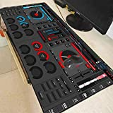 AUUUA alfombrilla de ratón Dj Hand Drive Speed Pad To Mouse Notbook Computer Mousepad High-End...