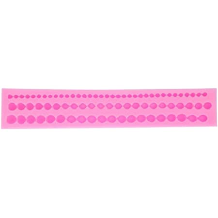 SYGA Beads Pearls Silicone Mold Fondant Decorating Mould String of Pearl Cake Decorating Sugarcraft Decorating Tool